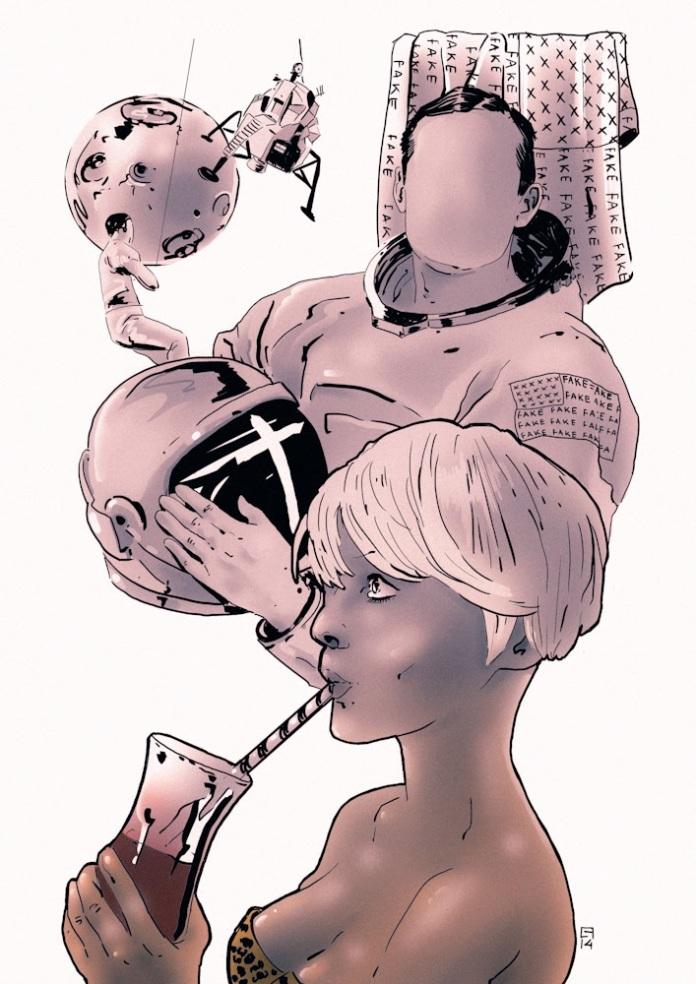 Disegno di Fabio Carretti
