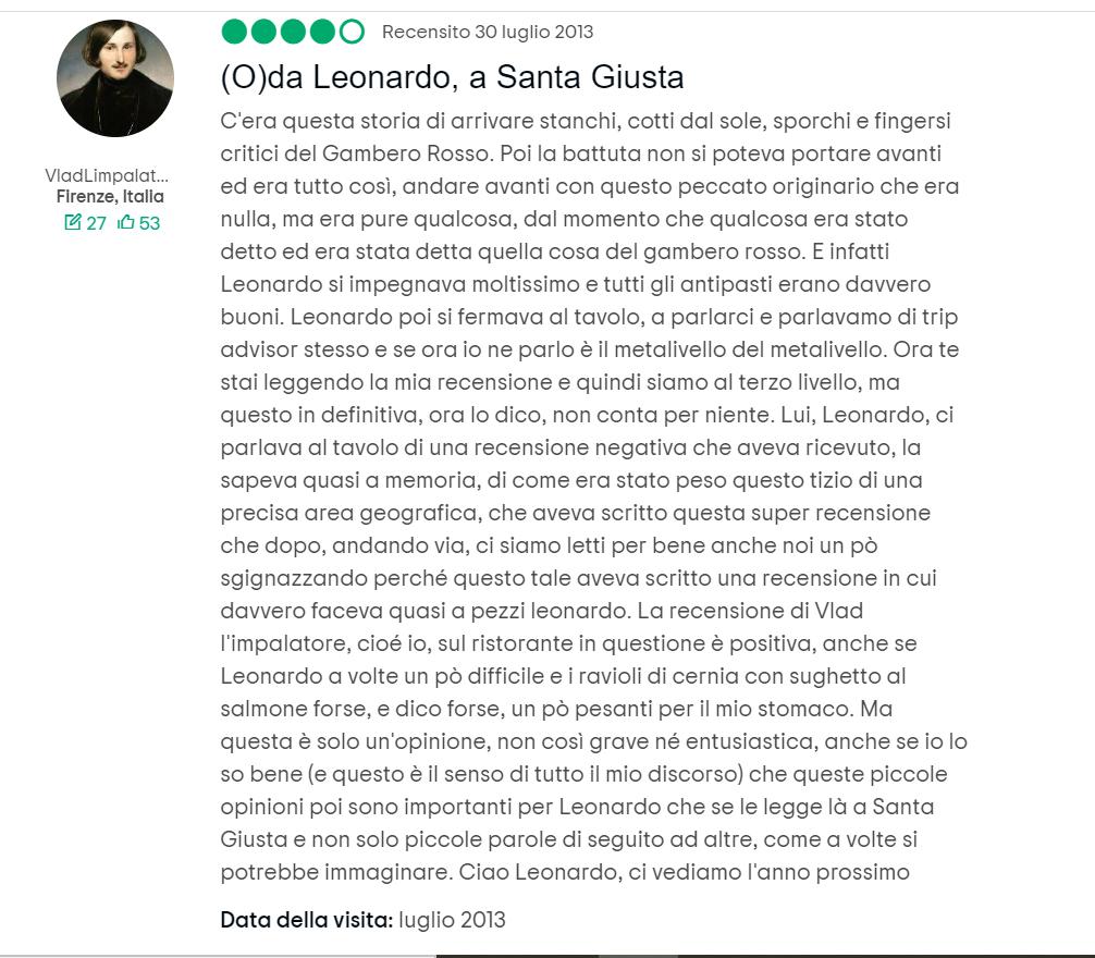 Da Leonardo, Santa Giusta, Sardegna