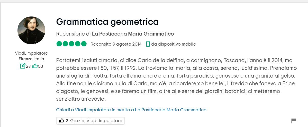 Pasticceria Maria Grammatico, Erice