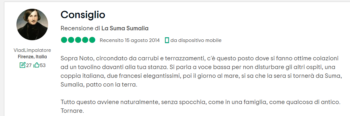 Suma Sumalia, sicilia